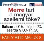 Merre tart a magyar szellemi tőke? – BBJ konferencia 2015. május 20.