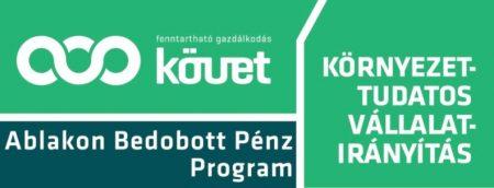 Ablakon Bedobott Pénz program Környezeti Megtakarítási Díjak 2017. - díjkiosztó és szakmai konferencia