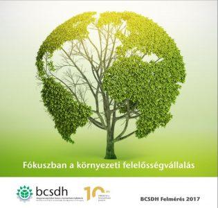 A vállalatok viszik tovább a fenntarthatóság ügyét - elkészült a BCSDH 2017-es felmérése