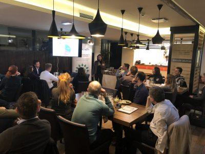 """Energiaközösség és MVÜK Üzleti rapid randi a BCSDH """"A jövő vezetői"""" Alumni eseményén"""