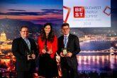 A BCSDH Elnökségének két tagja is díjat vehetett át a Budapest Energy Summiton