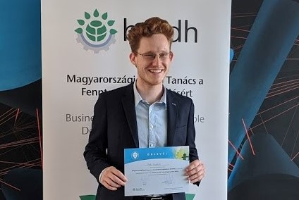 "Krisztián Putti has been awarded the BCSDH ""Future Leaders"" Talent Program scholarship"