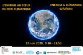 """""""Energia a klímapara szívében"""" online konferencia a BCSDH társszervezésével"""