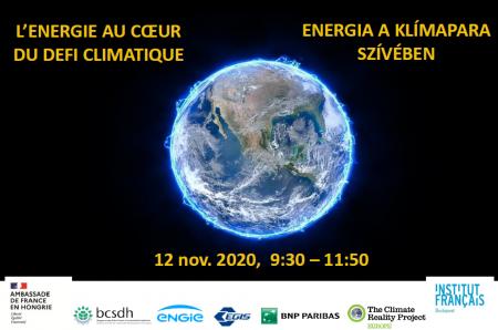 Energia a klímapara szívében - Online konferencia