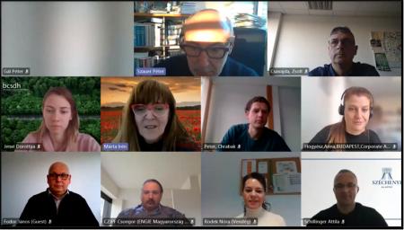 Rendkívül hasznos előadásokkal tartottuk meg idei első ESG munkacsoport ülésünket