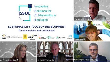 Innovatív megoldások a fenntarthatóságért a felsőoktatásban és azon túl