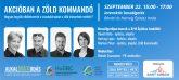 Nemzetközi Zöld Építés Hete - Húsmentes kihívást és irodai kerékpárokat is bevet a Zöld Kommandó